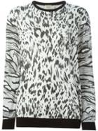 Fausto Puglisi Leopard Jacquard Sweater