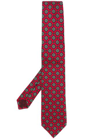 Gucci Floral Embroidered Tie
