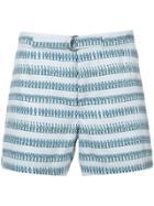 Katama Striped Shorts - Blue