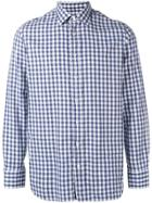 Lardini Gingham Shirt - Blue