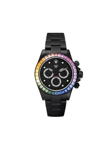 Mad Paris Rolex Daytona Rainbow 40mm - Black