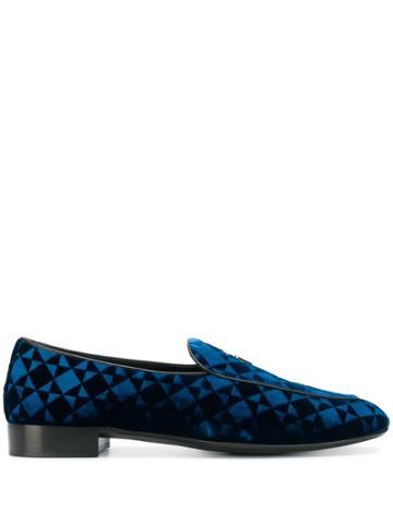 Giuseppe Zanotti G-flash Loafers - Blue