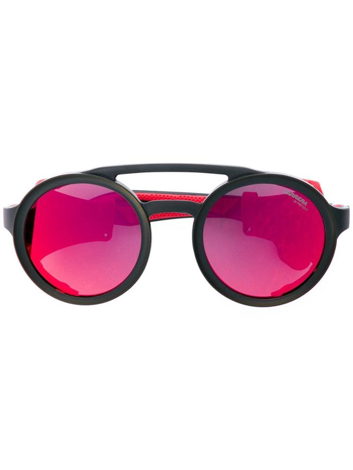 Carrera Hyperfit Round Sunglasses - Red
