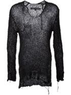 Cedric Jacquemyn V-neck Ribknit Sweater
