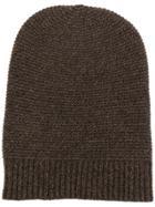 N.peal Beanie Hat - Brown