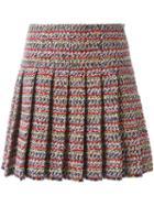 Chanel Vintage Pleated Tweed Skirt