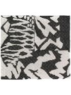 Missoni Patterned Scarf - Black