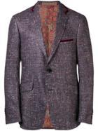 Etro Tailored Blazer - Blue