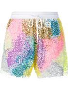 Ashish Sequin-embellished Shorts