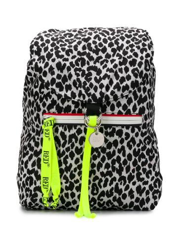 Red Valentino Red(v) Packer Backpack - Black