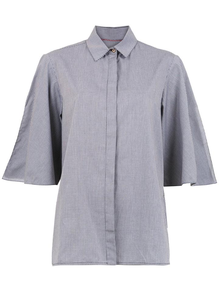 Sissa Gingham Shirt - Grey