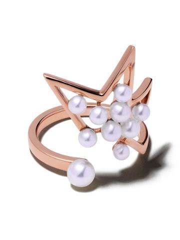 Tasaki 18kt Rose Gold Abstract Star Ring - Sakura Gold