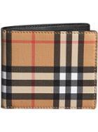 Burberry Vintage Check International Bifold Wallet - Nude & Neutrals