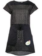Love Moschino Perforated Dress - Black