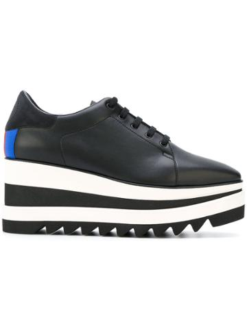 Stella Mccartney Sneak-elyse Platform Sneakers - Black
