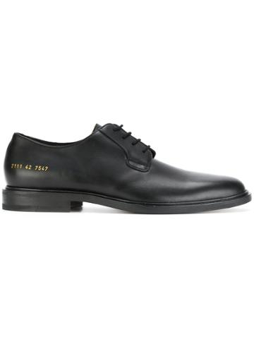 Common Projects Derby Shoes - Black