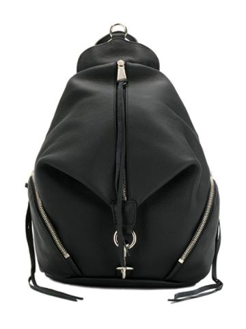 Rebecca Minkoff Zip Detail Backpack - Black