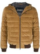 Herno Hooded Padded Jacket - Nude & Neutrals
