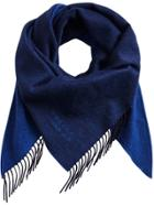 Burberry Faded Bandana Scarf - Blue