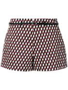Loveless Cube Print Shorts - Multicolour