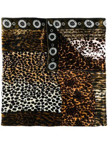 Pierre-louis Mascia Kanadas Printed Scarf - Brown