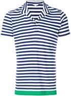 Orlebar Brown Felix Blockhem Polo Shirt - Blue