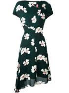 Marni Floral Asymmetric Dress