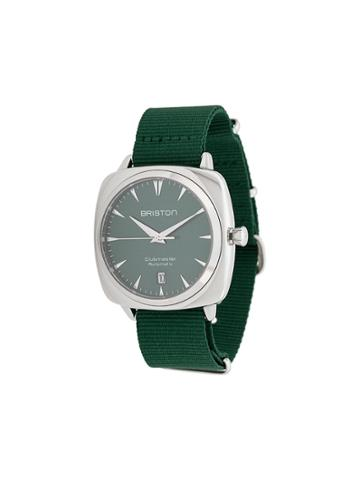Briston Watches Clubmaster Iconic Steel Watch - Green