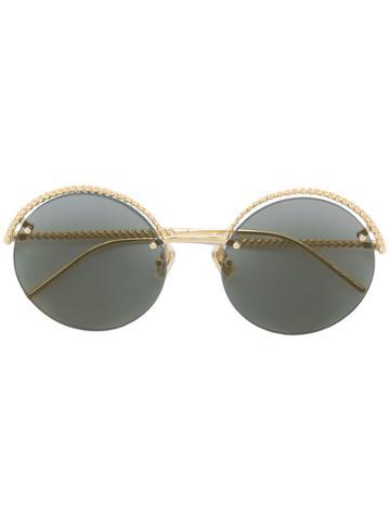 Boucheron Round Sunglasses - Metallic