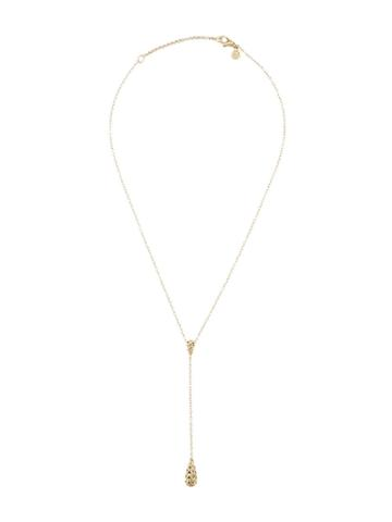 John Hardy Classic Droplet Chain Necklace - Gold