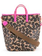 Muveil - Floral Print Tote - Women - Polyester - One Size, Brown, Polyester