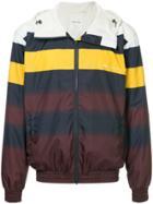 Wood Wood Striped Hooded Jacket - Multicolour