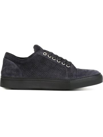 Armani Collezioni Perforated Sneakers