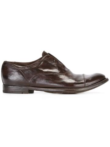 Officine Creative Laceless Oxfords - Brown