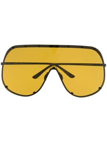 Rick Owens Shield Sunglasses - Black