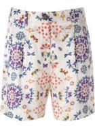 Forte Forte Floral Print Shorts