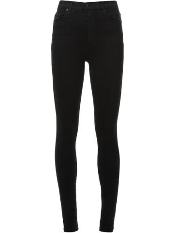 Nobody Denim - Siren Skinny Powerblk - Women - Cotton/polyester/spandex/elastane - 25, Black, Cotton/polyester/spandex/elastane
