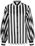G.v.g.v. Striped Shirt - Black