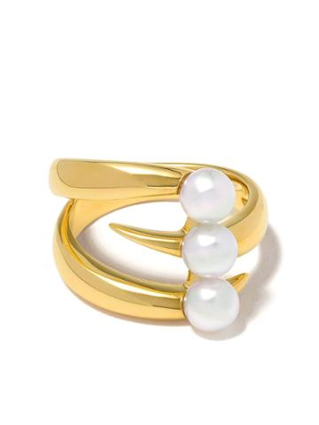 Tasaki 18kt Yellow Gold Danger Claw Ring