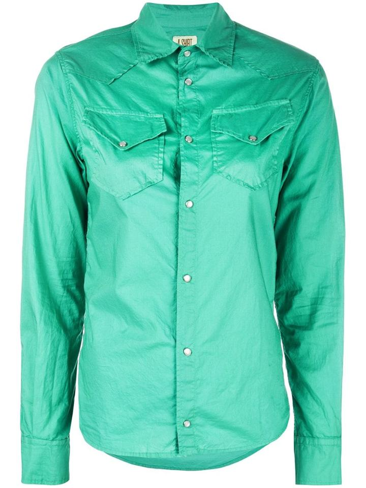 A Shirt Thing Pocket Shirt - Green