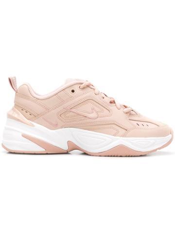 Nike Nike Ao3108n 202 Beige Leather/fur/exotic Skins->leather - Pink