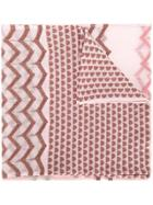 Missoni Patterned Scarf - Pink & Purple