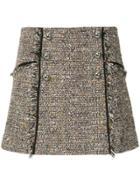 Veronica Beard Tweed Mini Skirt - Multicolour