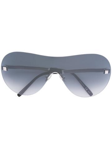 Boucheron Oversized Sunglasses - Metallic