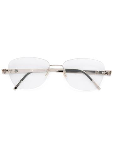 Lindberg 'unique' Glasses, Grey, Diamond/18kt White Gold