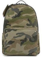 Valentino 'rockstud' Camouflage Backpack