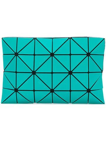 Bao Bao Issey Miyake - Embroidered Clutch Bag - Women - Polyester/nylon/zinc - One Size, Blue, Polyester/nylon/zinc
