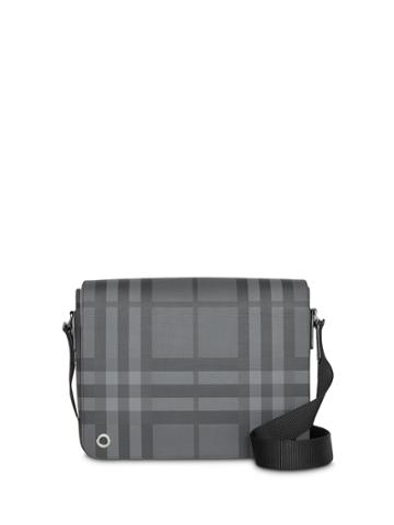 Burberry Small London Check Satchel - Grey