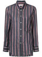 Isabel Marant Étoile Striped Buttondown Shirt - Grey