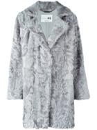 Manzoni 24 Notch Collar Fur Coat